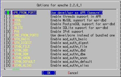 Apache on FreeBSD - PukiWiki